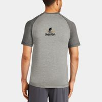 Mens Sublimated PosiCharge Tri Blend Wicking Raglan Tee Thumbnail
